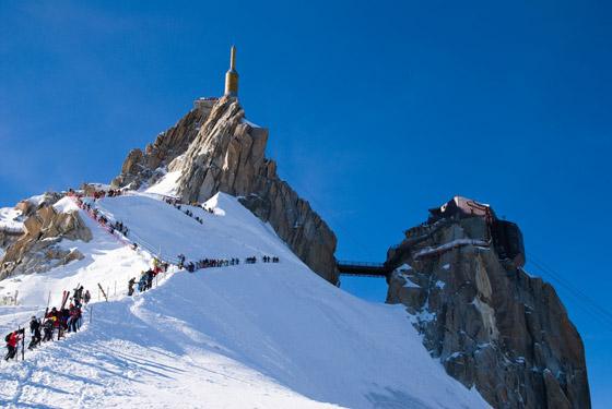 Aiguille du Midi - Vallée Blanche