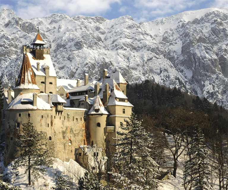Château de Dracula - Transylvanie