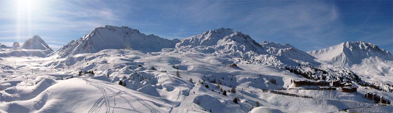 La plagne enneigement bulletin m t o neige meteo des - Office tourisme la plagne centre ...